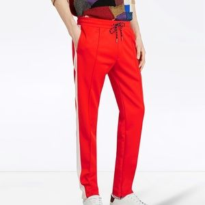 Burberry Sport Stripe Drawstring Trouser